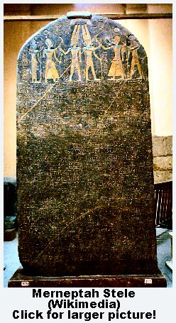 Merneptah Stele